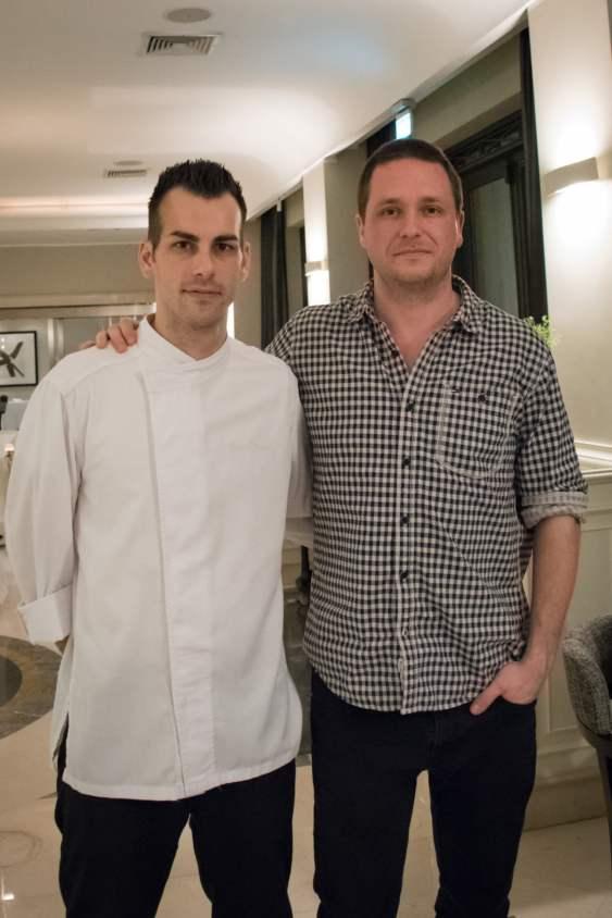 Restaurant Assaje Rome - Chef Claudio Mengoni et Cédric Lizotte