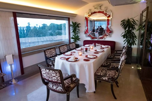 Imago Rome - Le restaurant