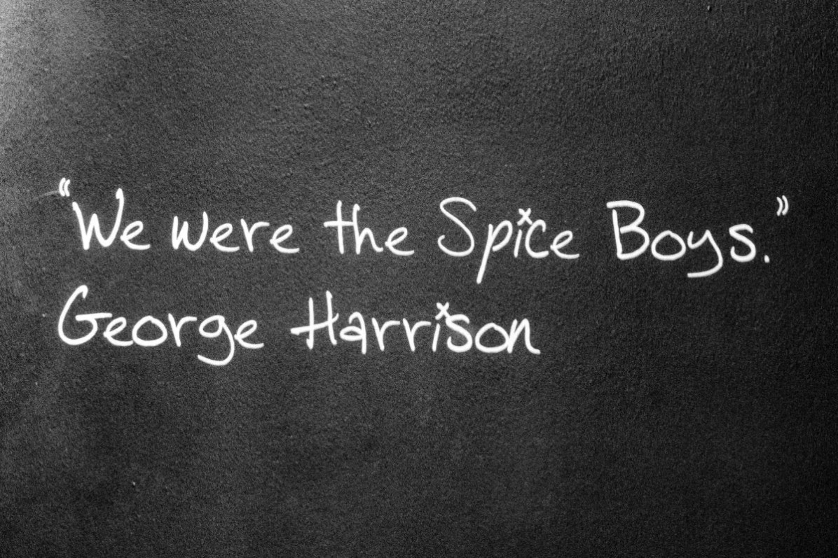 Beatles story harrison quote-cedric-lizotte