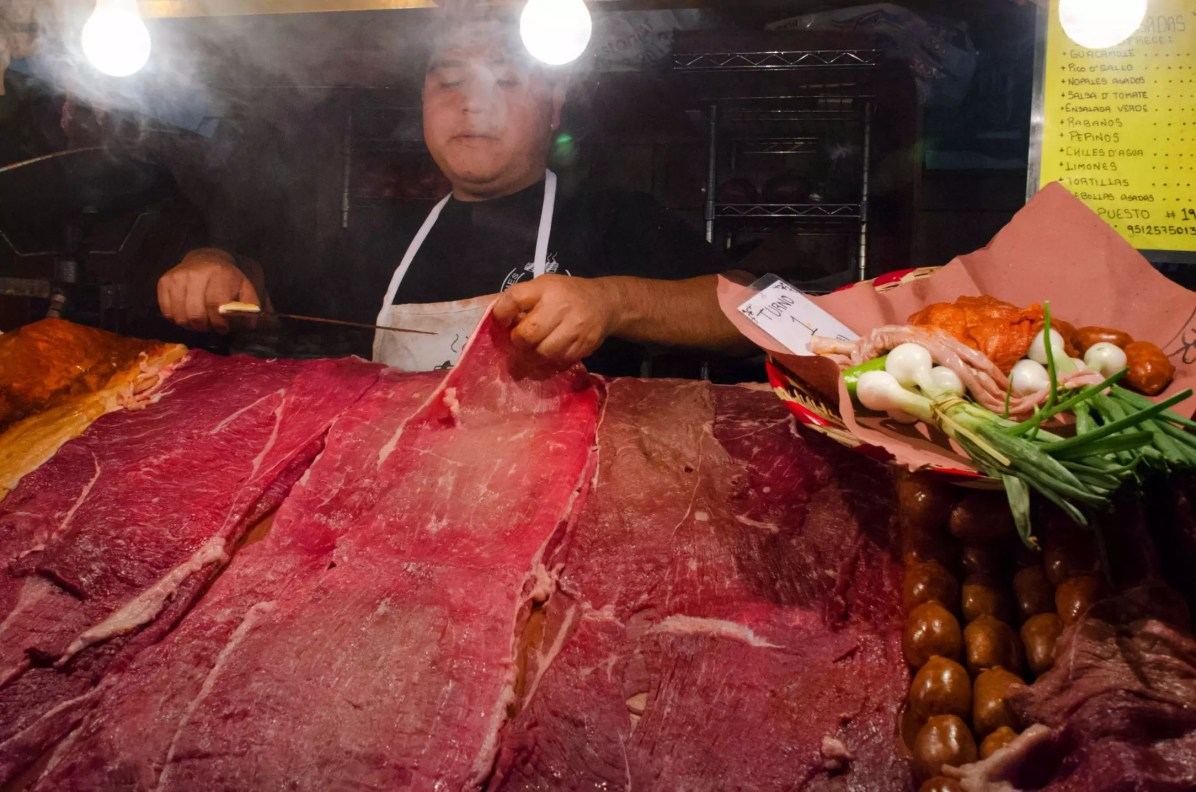 What to eat in Oaxaca City - Carnes Asadas - The Butcher - Things to do in Oaxaca