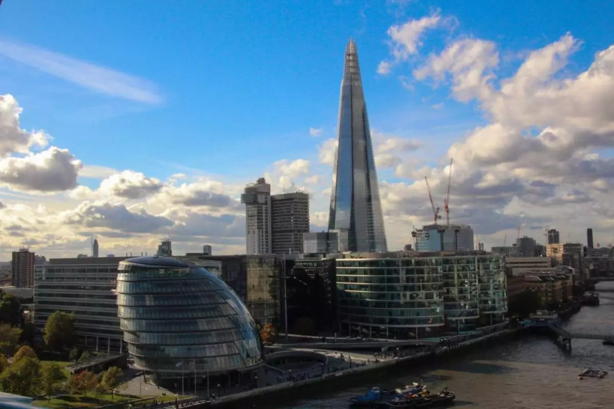 The Shard - Eat Well in London - Photo credit: Oliver25 under CC BY-SA 3.0