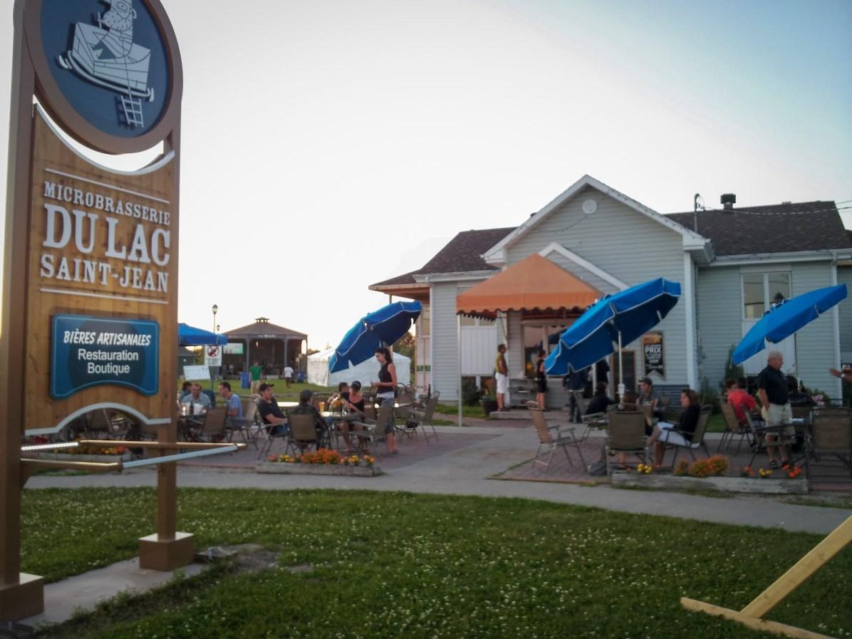 Quebec Craft Beer: La Microbrasserie du Lac