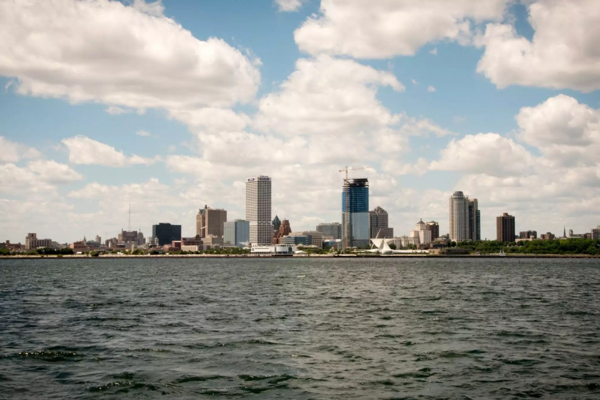 Milwaukee seen from Lake Michigan - Things to do in Milwaukee, where to stay in Milwaukee