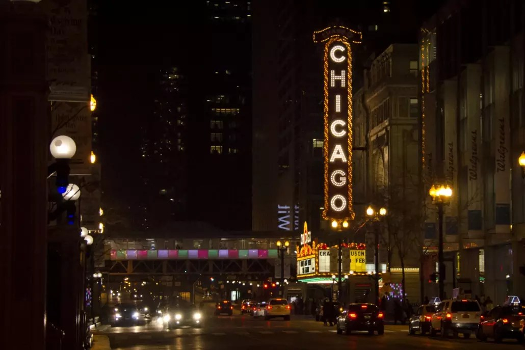 Chicago Travel Blog - Chicago Theater