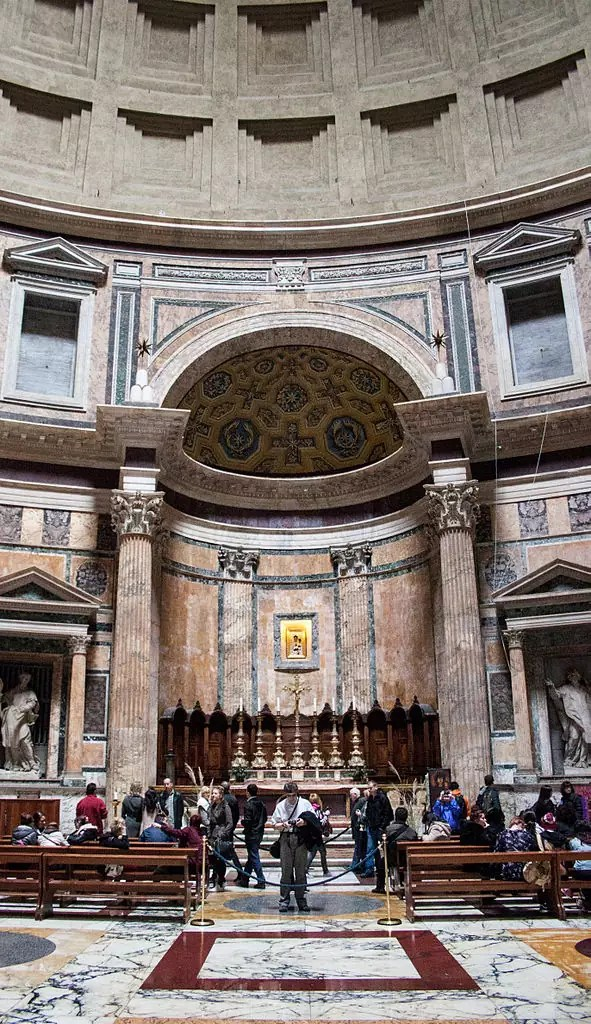 Pantheon Rome - CC0 / Public Domain - Things to do in Rome