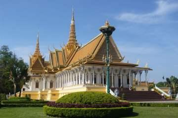 Royal Palace Phnom Penh - CC0 / Public Domain