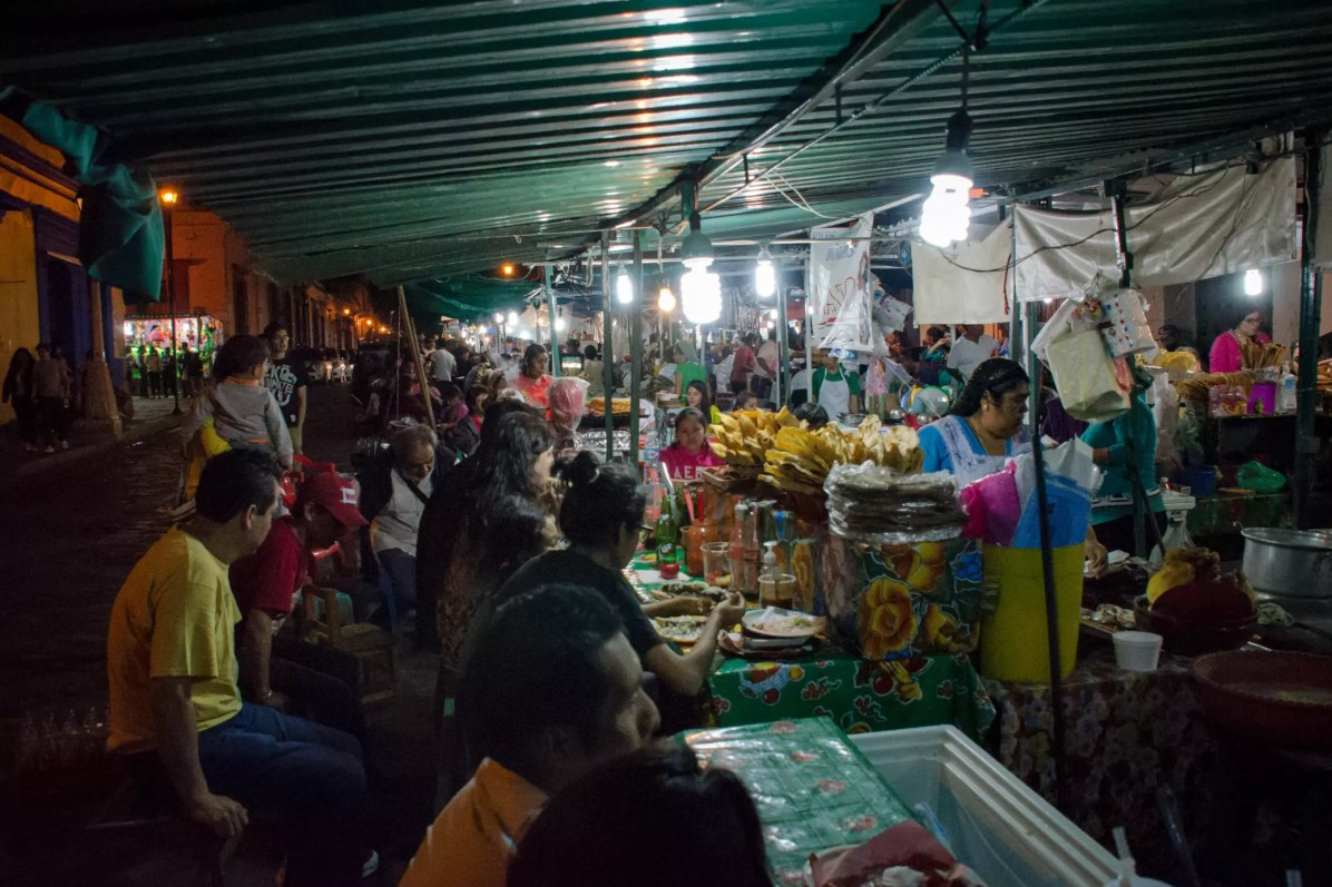Things to do in Oaxaca - So much street food!