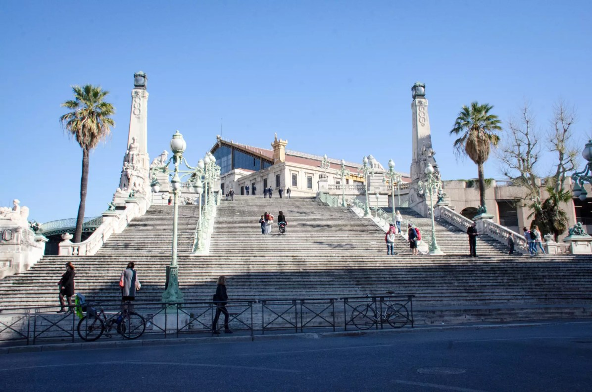 Things to do in Marseille - The infamous St-Charles train station
