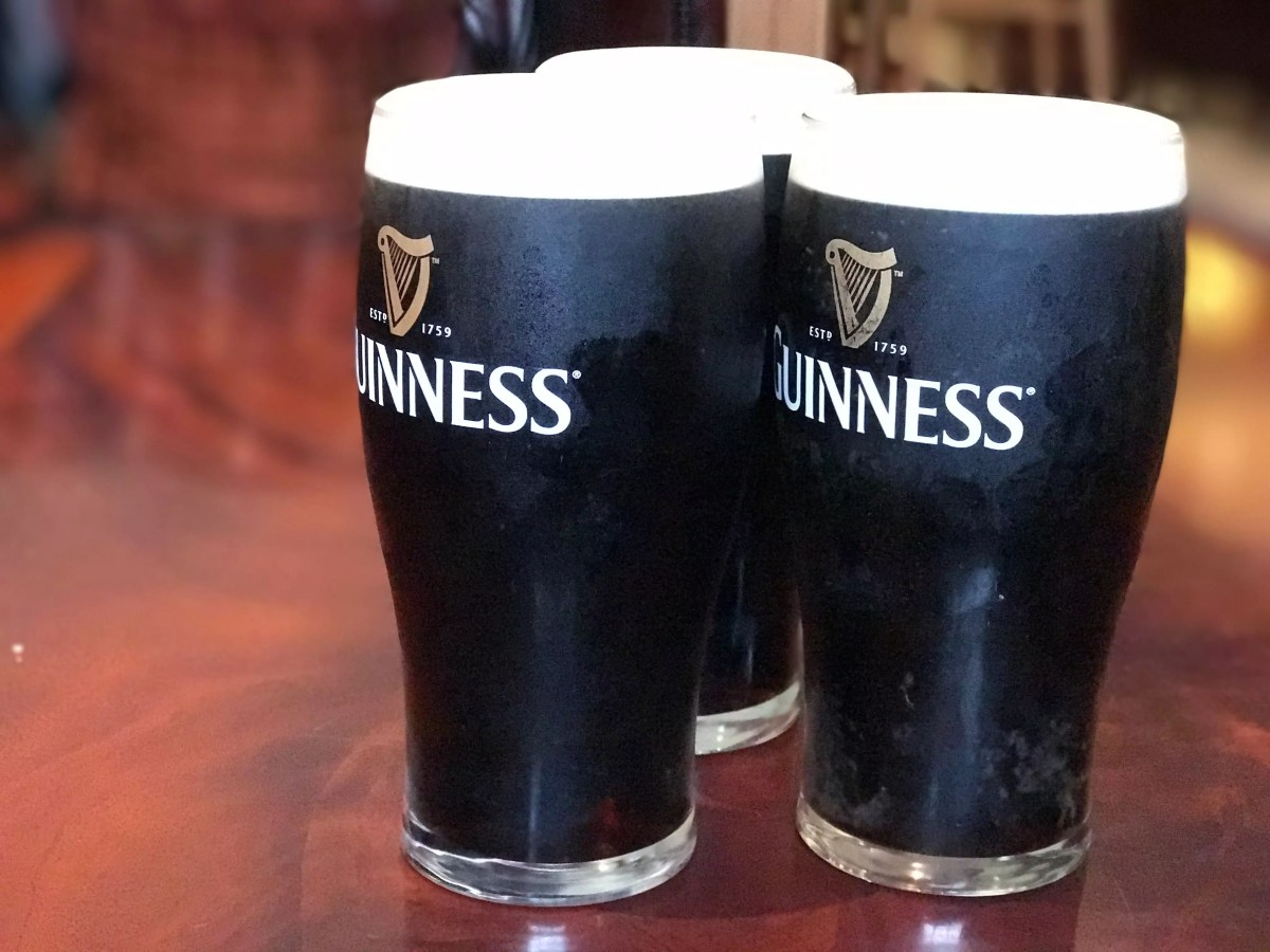 Irish drinks: Guinness
