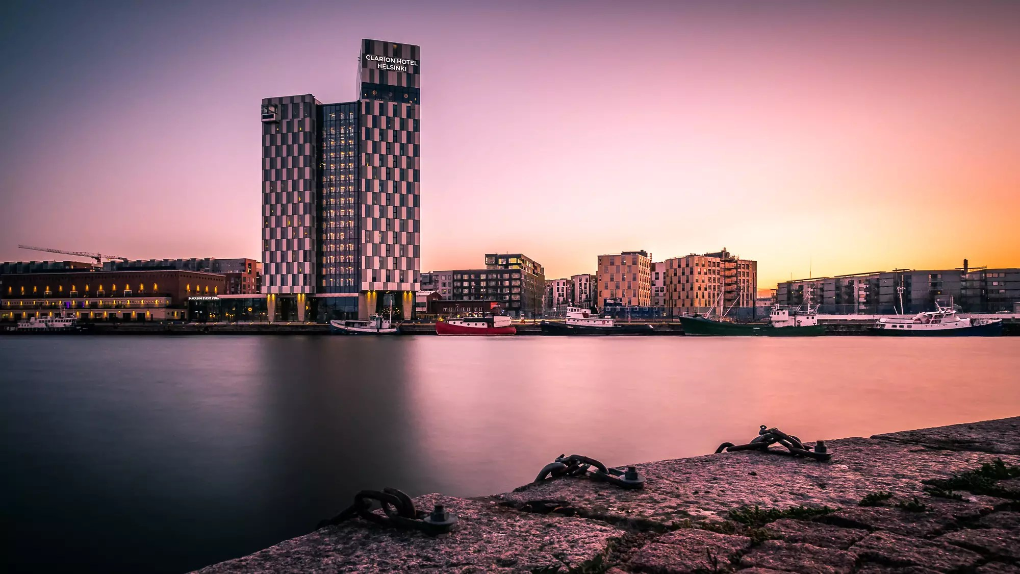Sunset in Helsinki - Finland - photo by Giuseppe Milo under CC BY 2.0