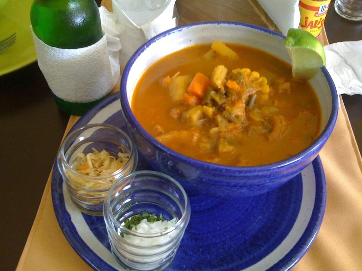 Sopa de Mondongo - photo by Roberto Rodríguez under CC BY-SA 2.0