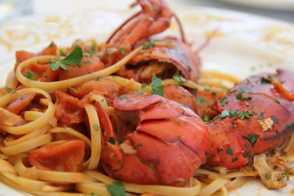 Anthony Bourdain Brooklyn - Lobster Fra Diavolo - photo by Max Pixel under CC0 1.0