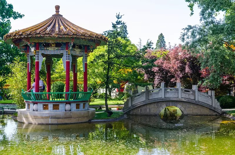 free things to do in Zurich - Chinese Garden, Zürich - photo by Shepard4711 under CC BY-SA 2.0