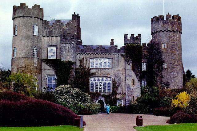 historical sites in Dublin - Malahide Castle - photo by Joseph Mischyshyn under CC BY-SA 2.0