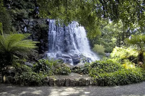 Waterfall in Iveagh Gardens - photo by William Murphy under CC BY-SA 2.0