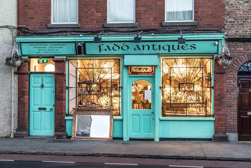 Fadó Antiques - photo by William Murphy under CC BY-SA 2.0