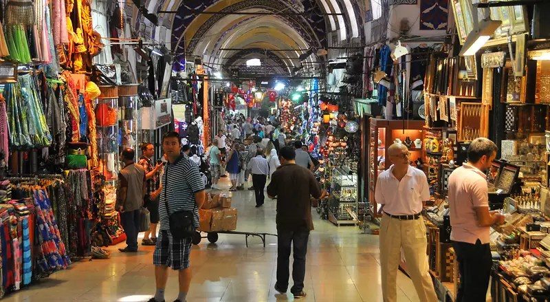 free things to do in Istanbul - The Grand Bazaar, Istanbul - photo by Mike McBey under CC BY 2.0