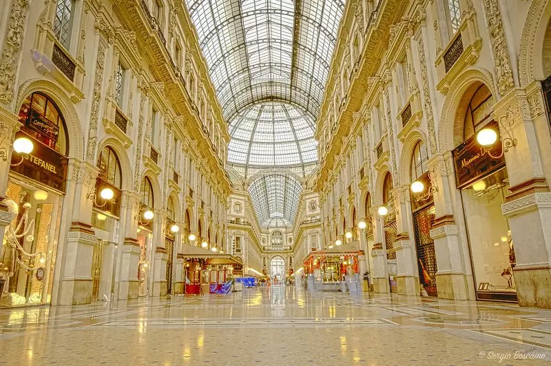 Galleria Vittorio Emanuele II - photo by Sergio Boscaino under CC BY 2.0