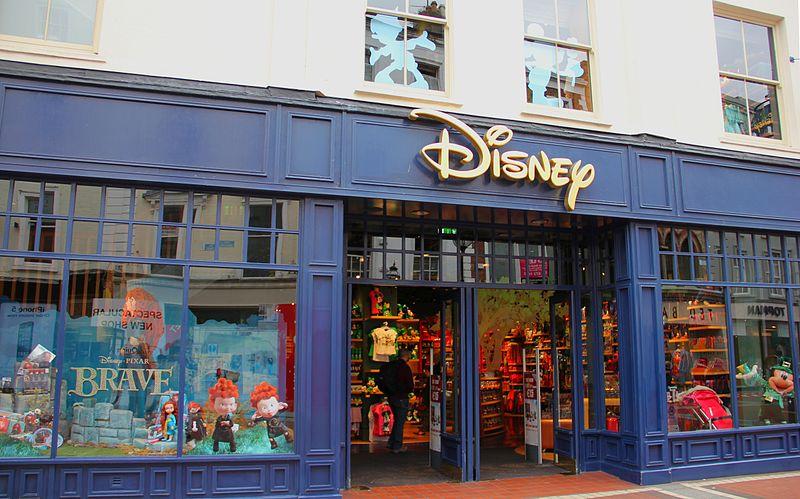 Disney Store on Grafton Street in Dublin, Ireland - photo by J.-H. Janßen under CC-Zero