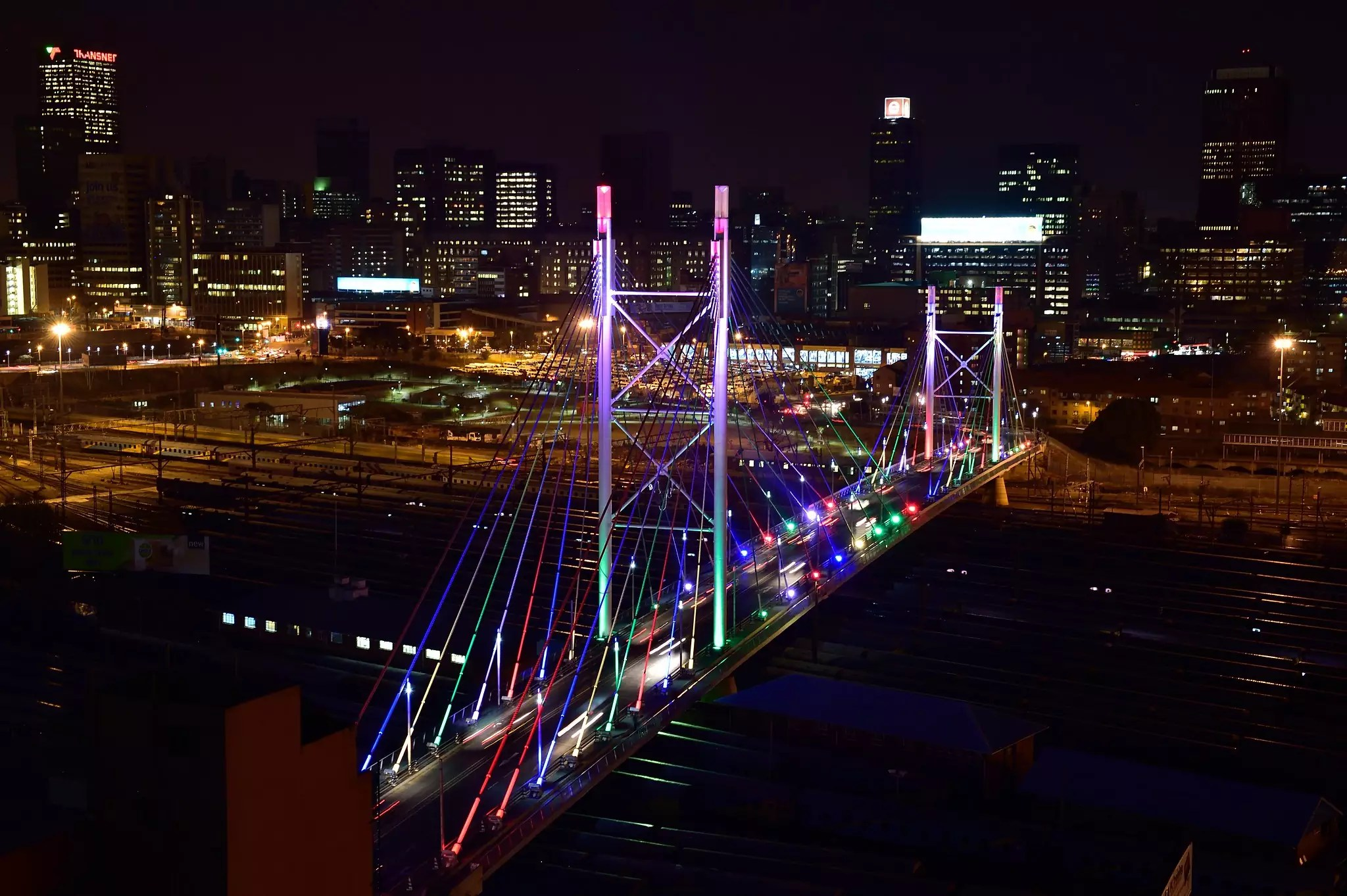 Mandela Bridge in Johannesburg, South Africa - photo by South African Tourism under CC BY 2.0