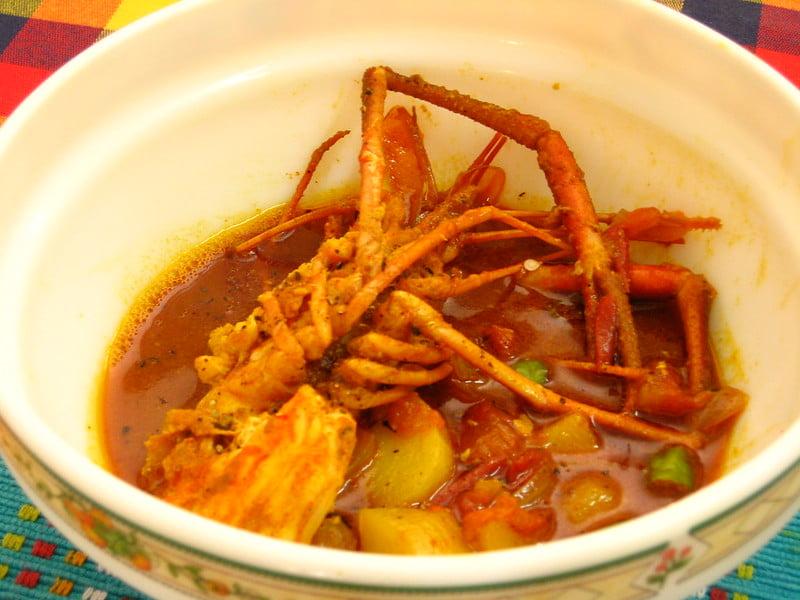 Anthony Bourdain Myanmar - Spicy Prawn Curry - photo by Sankarshan Mukhopadhyay under CC BY-SA 2.0