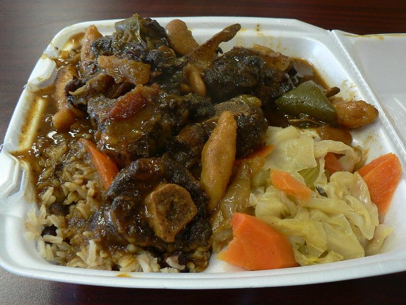 Anthony Bourdain Jamaica - Jamaican Oxtail - photo by stu_spivack under CC BY-SA 2.0