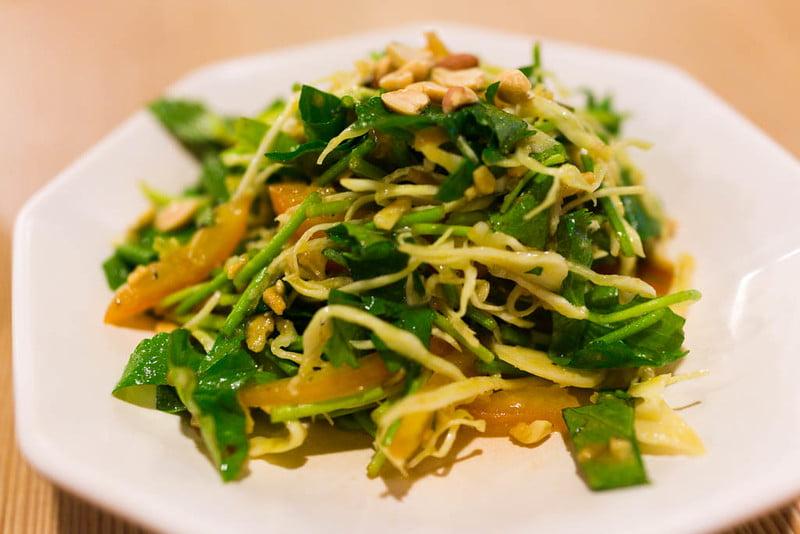 Pennywort Salad - photo by Charles Haynes under CC BY-SA 2.0