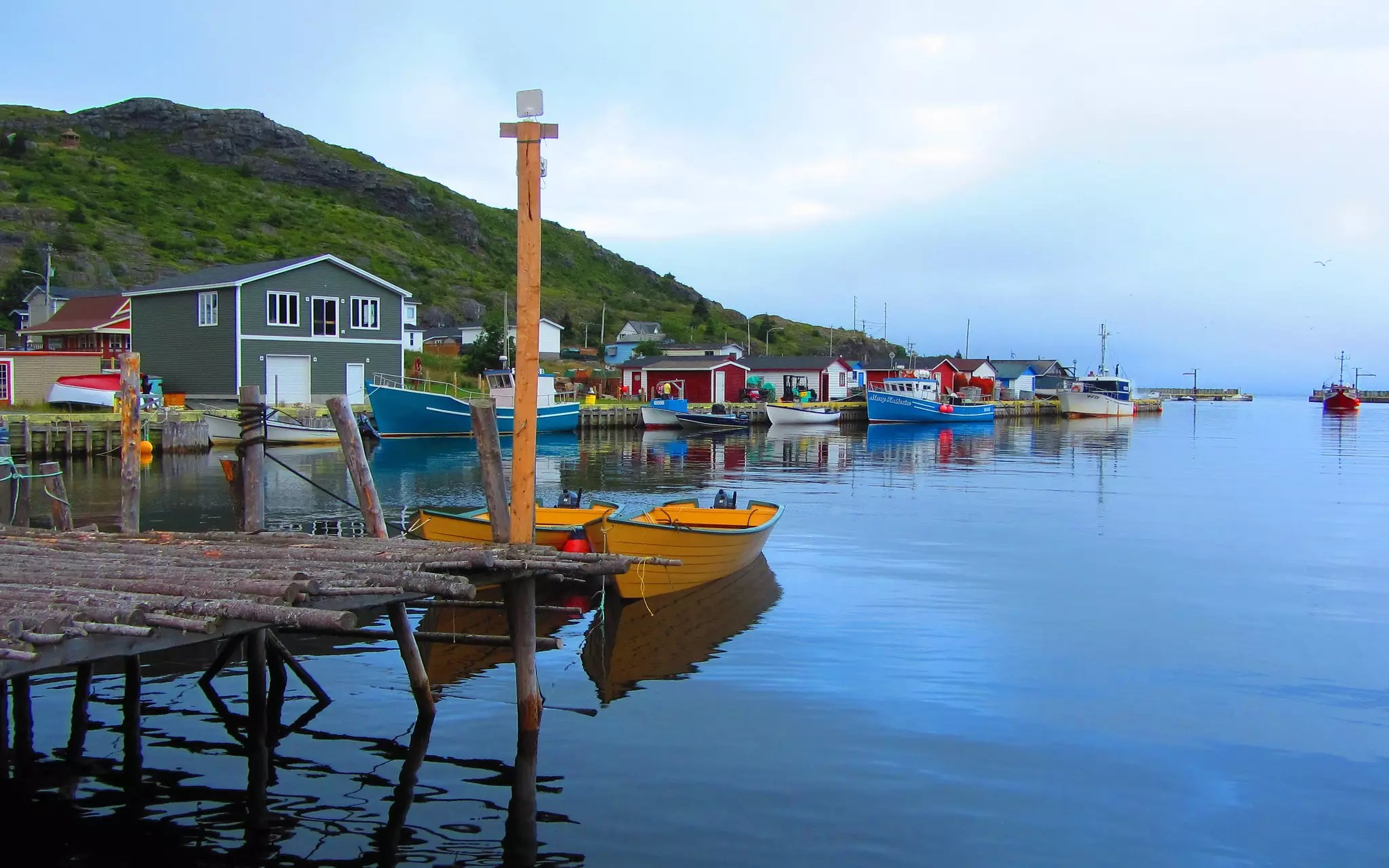 Petty Harbour, NL - photo by Loozrboy under CC BY-SA 2.0