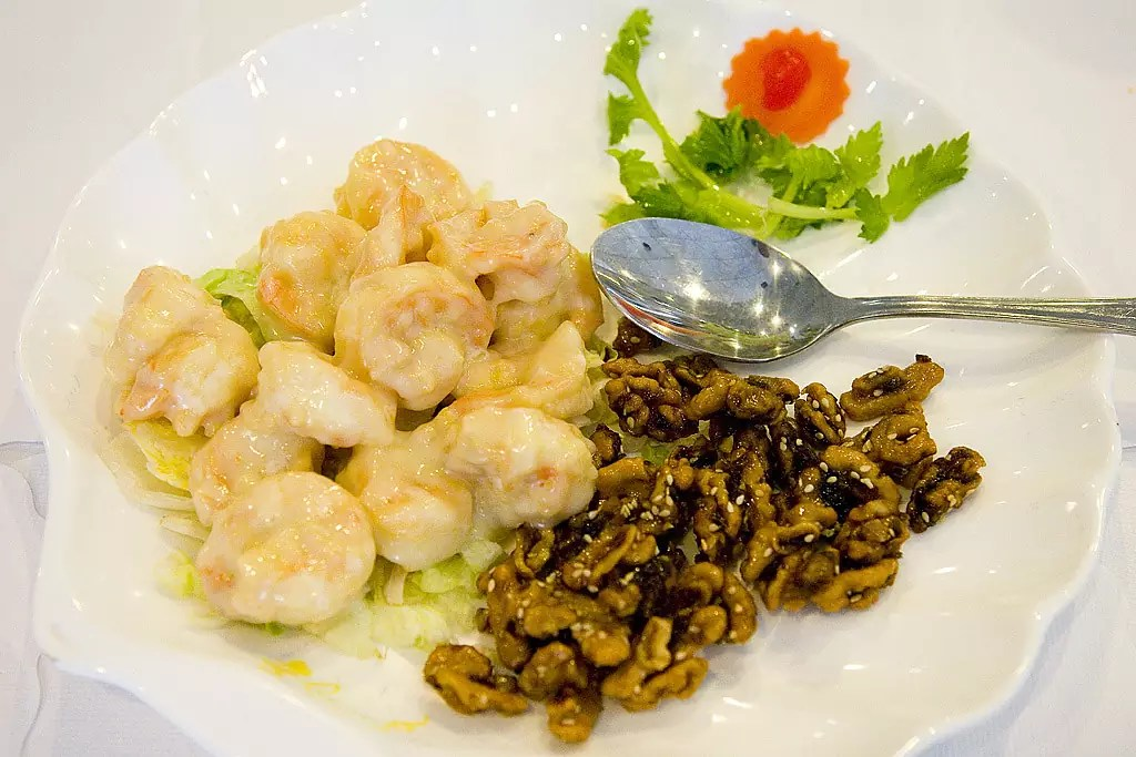 The Layover Hong Kong - Walnut Prawns - photo by pointnshoot under CC BY 2.0