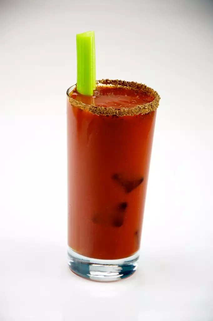Anthony Bourdain Amsterdam - Bloody Mary Cocktail with celery stalk - photo by TheCulinaryGeek under CC BY 2.0