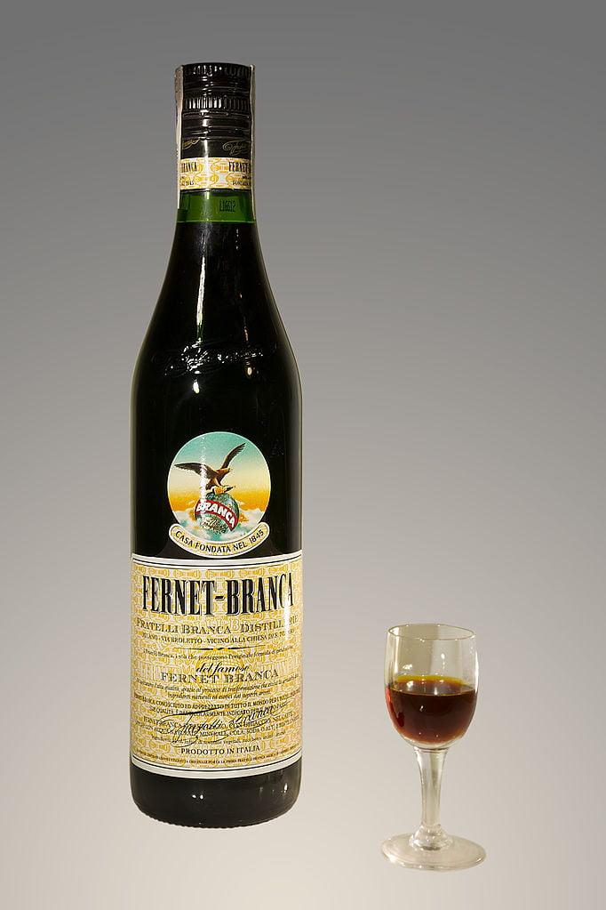 The Layover London - 70cl Bottle Fernet-Branca - photo by Didier Descouens under CC-BY-SA-3.0