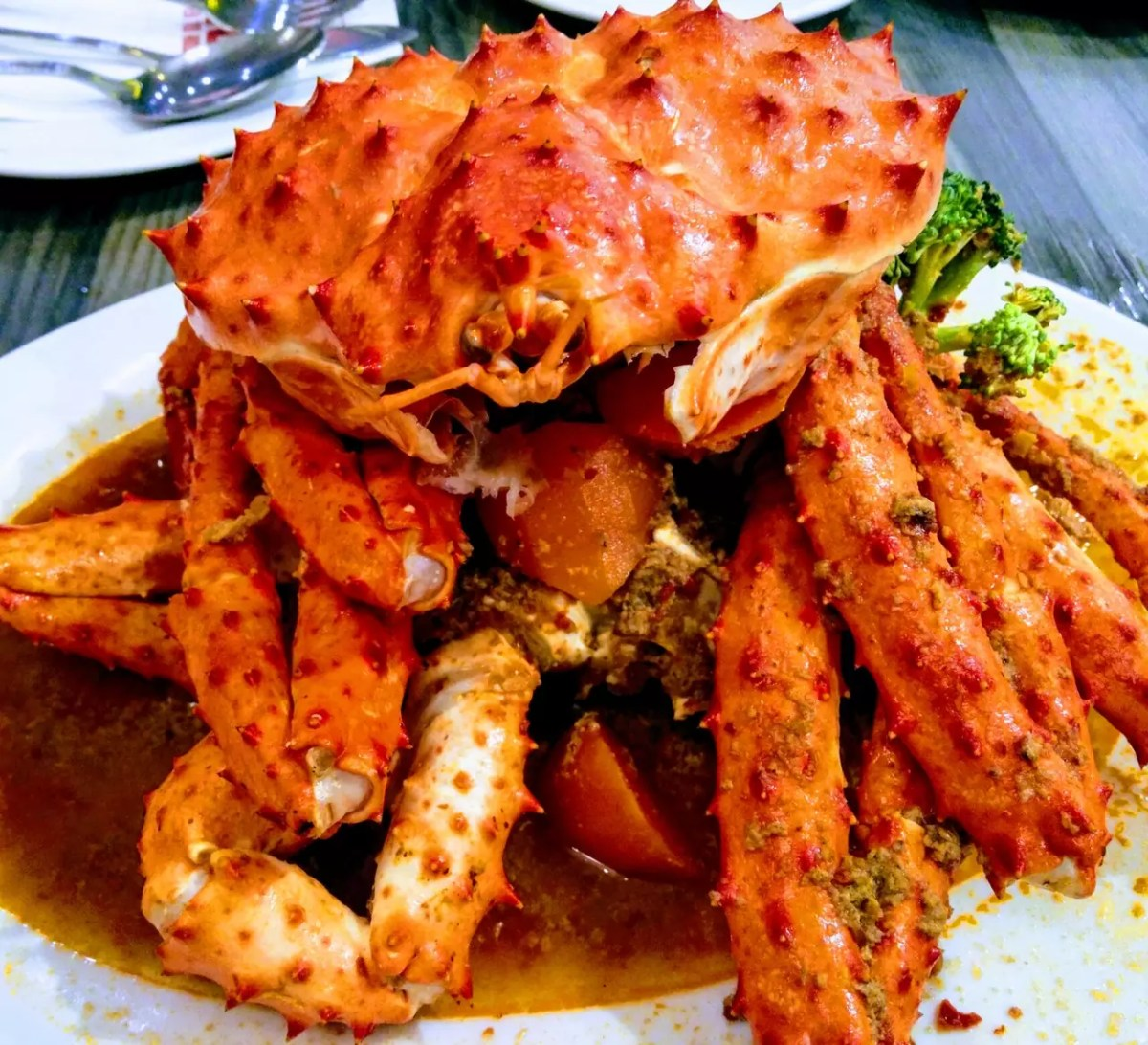 Anthony Bourdain Taipei - Sautéed King Crab - photo by  H H under Pexels License