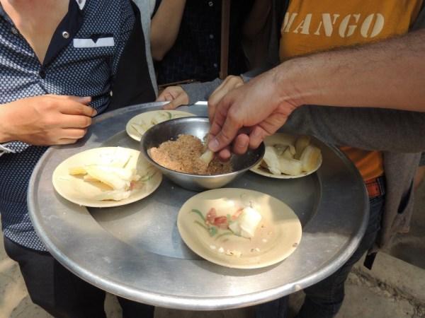Mandioca com paçoca: para alimentar os VCs durante a guerra.