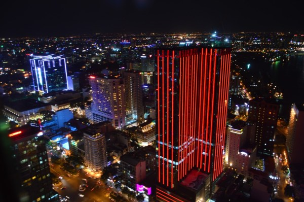Vista do Bitexco Financial Tower