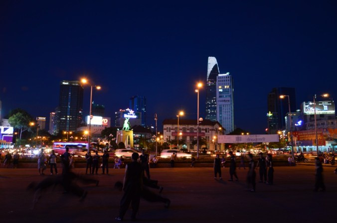 Área do mercado central - Ho Chi Minh