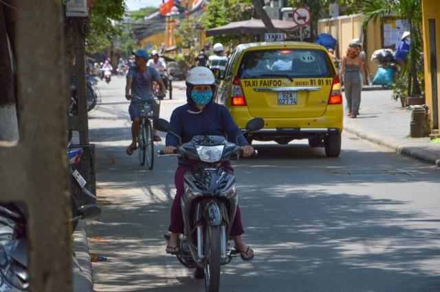 Trânsito em Hoi An