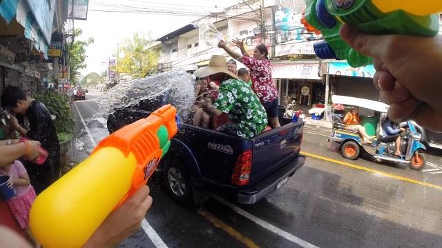 Songkran Festival - nossas arminhas