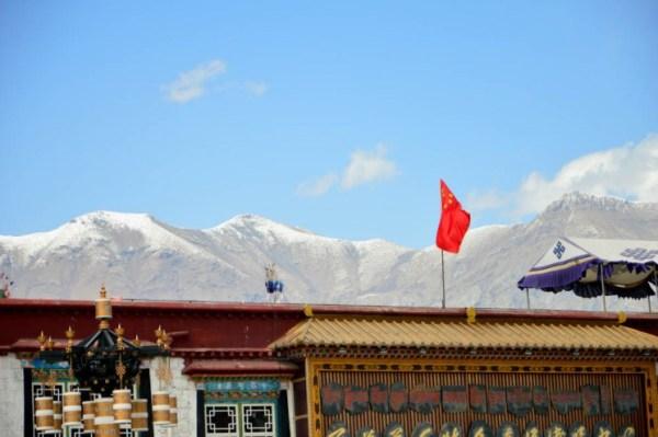 O céu de Lhasa