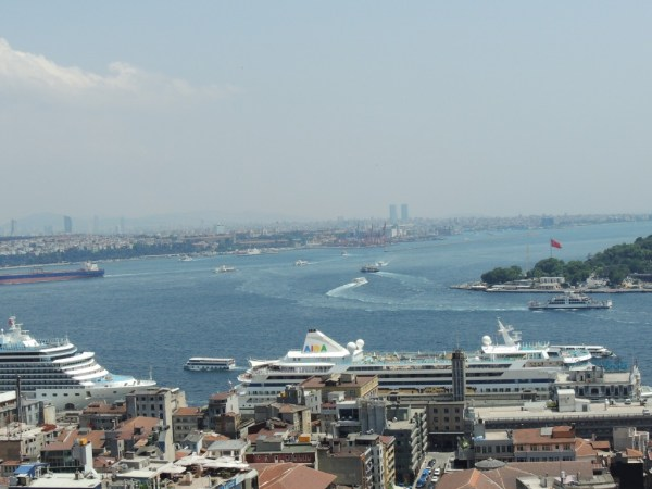 Vista da Galata Tower