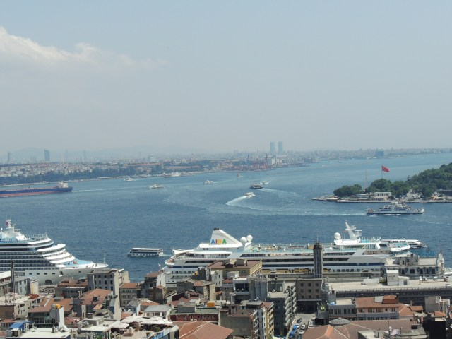 Vista da Galata Tower