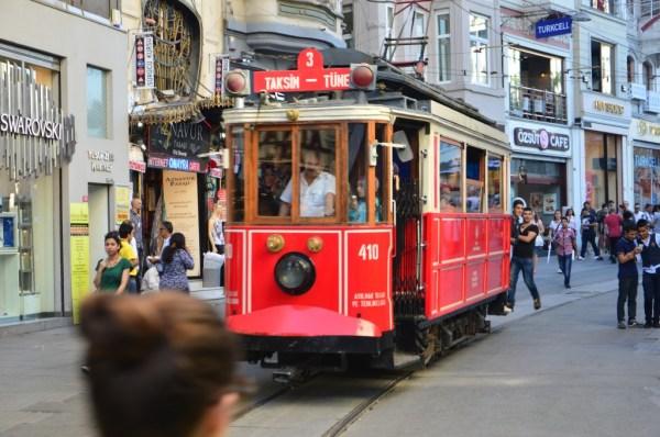 Bondinho (não o tram) só para turistas