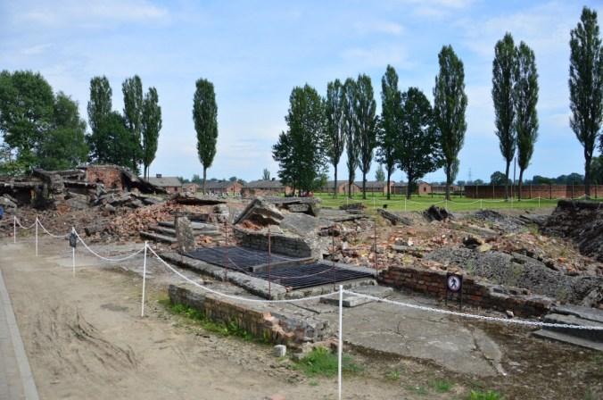 Uma de todas as câmaras que foram destruídas pelos nazistas antes da invasão soviética