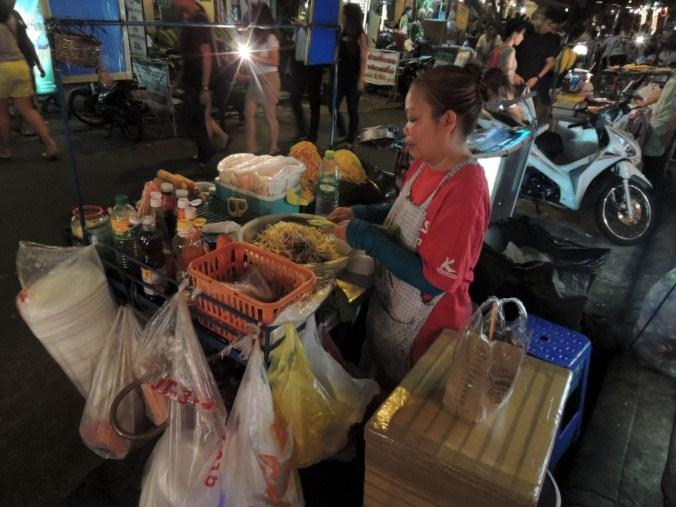 Barraca de rua - Pad Thai
