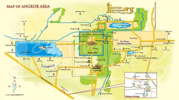 Mapa do complexo