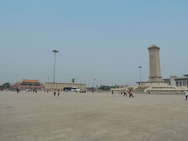 Praça da Paz Celestial (Tianmmen)