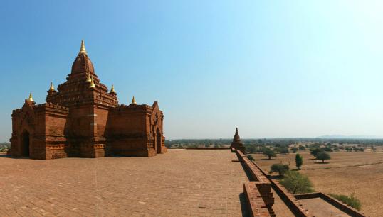 templo de bagan myanmar imagem destaque