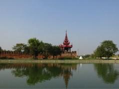 palácio em mandalay imagem destaque