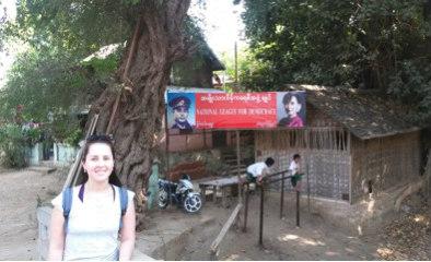 Aung San e Aung San Suu Kyi Yangon