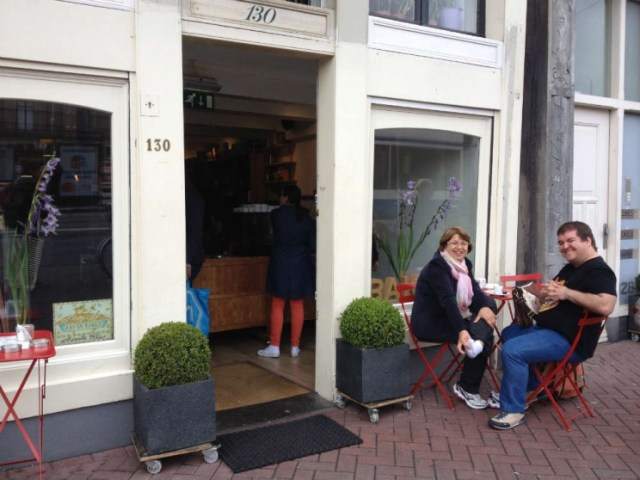 Cafezinho em Amsterdã