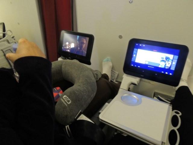 Poltronas classe Premium Ecnonomy Air France